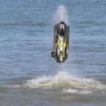 jet ski sur la plage a villers sur mer Très Haute Saison