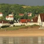 de la plage on peux admiré c'est magnifique villas de la plage
