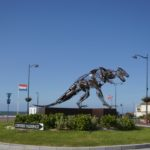 un tyrannosaure de villers sur mer